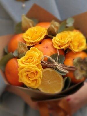 Фруктовый букет из цитрусовых в Омске